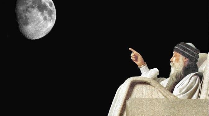 Osho: Ο άνθρωπος είναι τροφή για τη Σελήνη