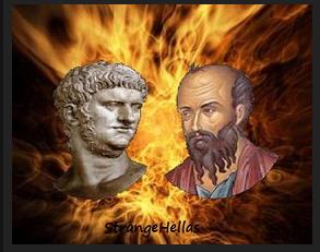 Αποτέλεσμα εικόνας για Ποιος έκαψε την Ρώμη; Ο Νέρωνας ή ο Παύλος;