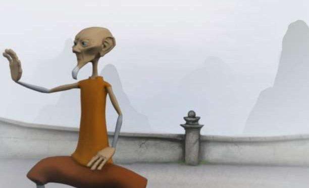 Ο μοναχός και ο απρόσμενος επισκέπτης