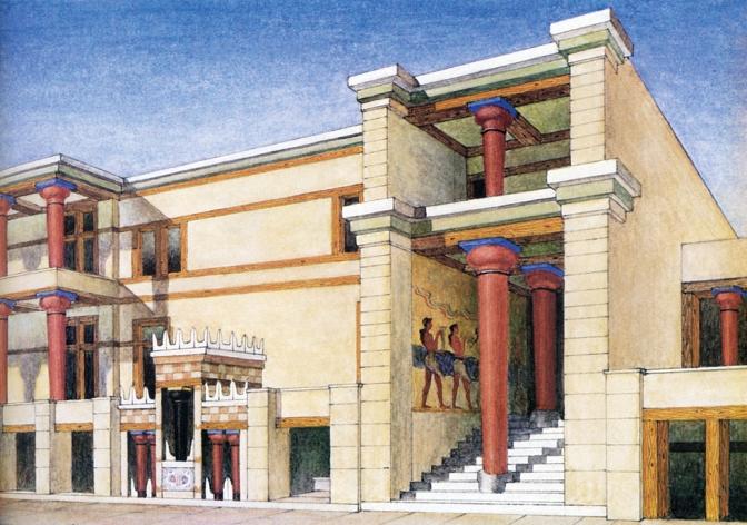 Κνωσσός – Το παλάτι του Μίνωα