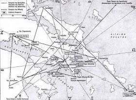 Κάθοδος και Άνοδος των Ψυχών και το Χωροδικτύωμα των Ναών