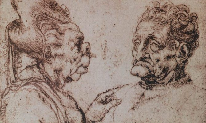 Τα περίεργα σχέδια με τέρατα και οι καρικατούρες του Λεονάρντο ντα Βίντσι