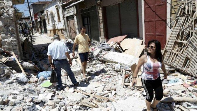 Αντί για τους σεισμοπαθείς της Λέσβου, τα χρήματα πάνε στην αποκατάσταση ναών (pics)