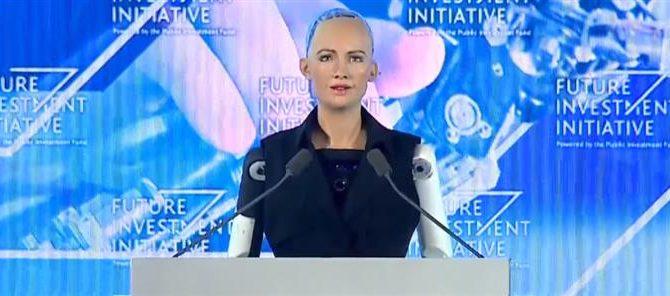 Αν νομίζεις πως έχεις ανατριχιάσει στη ζωή σου δες τα δύο παρακάτω βίντεο: Η Σαουδική Αραβία έδωσε υπηκοότητα σε ανθρωποειδές ρομπότ (ΑΙ)!