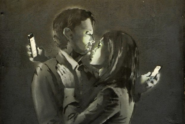 Αυτός, αυτή και τα κινητά τους (μια ιστορία παθιασμένου έρωτα…)