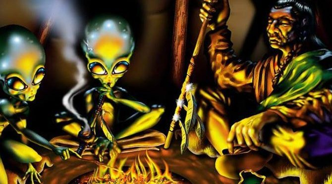 Να γιατί οι Ινδιάνοι της Αμερικής δεν φοβούνται τους εξωγήινους