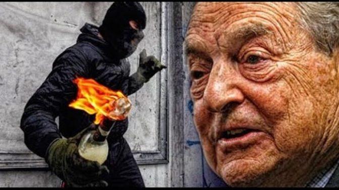 ΚΛΑΜΑ! Αναρχικοί αντιφασίστες απαιτούν τα χρήματα που τους οφείλει ο Σόρος για τις «αυθόρμητες» επαναστάσεις που τους ανέθεσε!