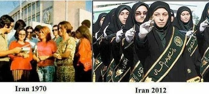 Ιράν στα 70's… Ιράν το '79… Ιράν σήμερα… Απολαύστε τα αποτελέσματα των θρησκειών! (βίντεο)
