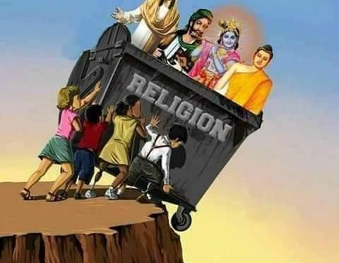 Είναι άλλες 2 χιλιάδες  κάτι θρησκείες βέβαια, αλλά δε χωράνε στον κάδο προφανώς…