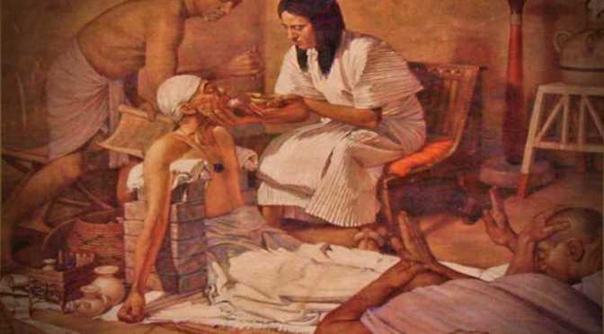"""Ο περίφημος αιγυπτιακός """"Πάπυρος Ebers"""" με τα ιατρικά μυστικά…"""