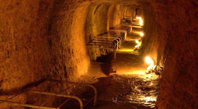 Το Ευπαλίνειο όρυγμα και η άγνωστη πηγή ηλικίας 2.500 ετών
