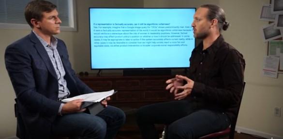 Η συνεντευξη του υπαλληλου της Google  μεταφρασμενη… (βίντεο)