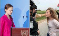H Γκρέτα Τούνμπεργκ θα προταθεί για το νόμπελ, ενώ η Αχέντ Ταμίμι θα κλειστεί ξανά στις φυλακές
