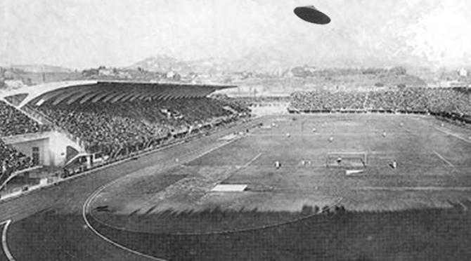 Η ιστορία της μίας και μοναδικής φοράς που παιχνίδι διεκόπη λόγω… UFO