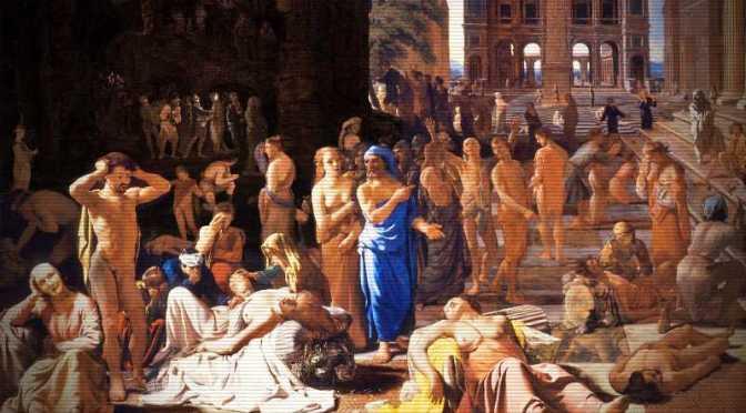 Ο φονικός λοιμός της Αθήνας, το 429 π.Χ…
