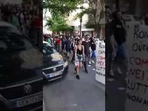 Ανθελληνικός παροξυσμός στο κέντρο της Αθήνας από τους «αλληλέγγυους» ΜΕ ΒΊΝΤΕΟ.