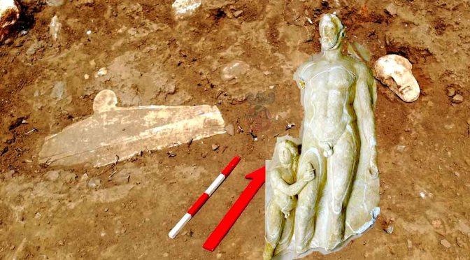 Στην Τήνο Αποκαλύφθηκαν Εξαιρετικές Αρχαιότητες