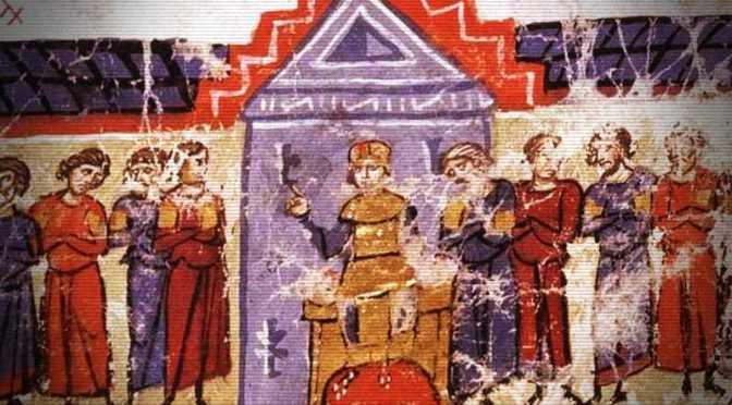 Ο ακόλαστος Αυτοκράτορας του Βυζαντίου Μιχαήλ ο Μέθυσος και οι γελωτοποιοί του…