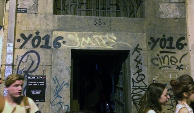 Ακαδημίας 58A: Το μυστηριώδες κτίριο άνοιξε για λίγες ώρες…