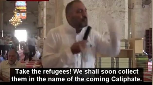 Ιμάμης στέλνει τους λεγόμενους πρόσφυγες – όλοι οι μουσουλμάνοι – στην Ευρώπη για να ποτίσουν τις γυναίκες με ισλαμικό σπέρμα και να γεννήσουν παιδιά.