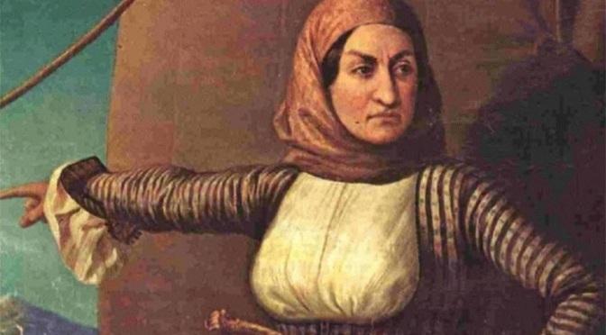 Οι γυναίκες της Επανάστασης: Καπετάνισσες, κατάσκοποι, πολεμίστριες, μεταφράστριες