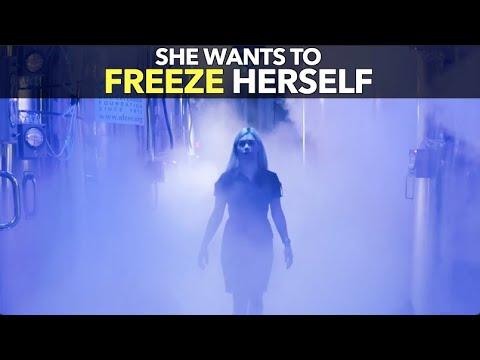 Τρελή επιστήμονας θέλει να ψύξει τον εαυτό της για να μην πεθάνει και το καταφέρνει! (βίντεο)