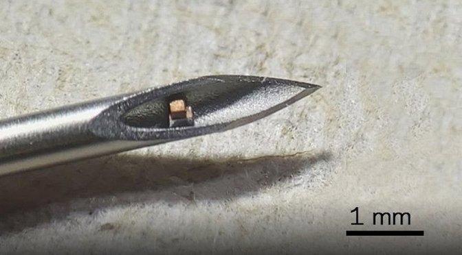 Επιστήμονες δημιούργησαν τσιπ που εισάγεται στο σώμα μέσω… ένεσης