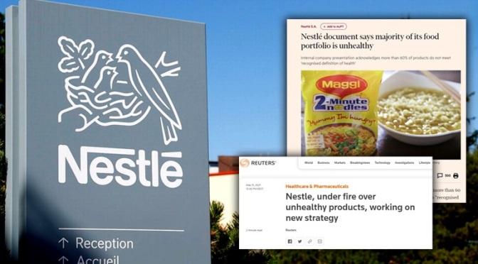 Έκθεση-κόλαφος για τη Nestlé!