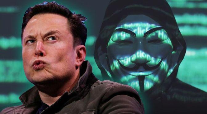 Οι Anonymous βάζουν στο στόχαστρο τον Elon Musk (ΒΙΝΤΕΟ)
