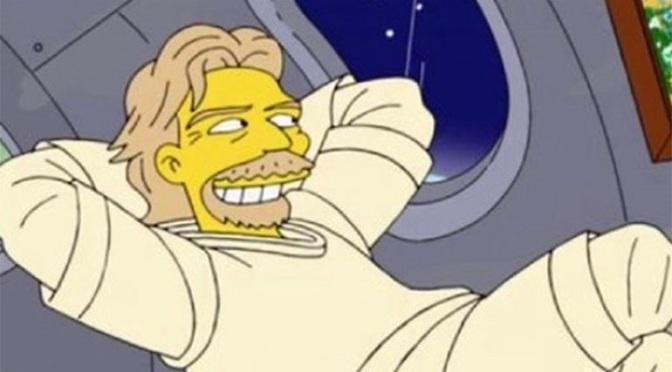 Οι Simpsons προέβλεψαν πριν από επτά χρόνια το ταξίδι του Ρ. Μπράνσον