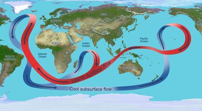 Ένα κύριο ωκεάνιο ρεύμα οδηγείται σε κατάρρευση