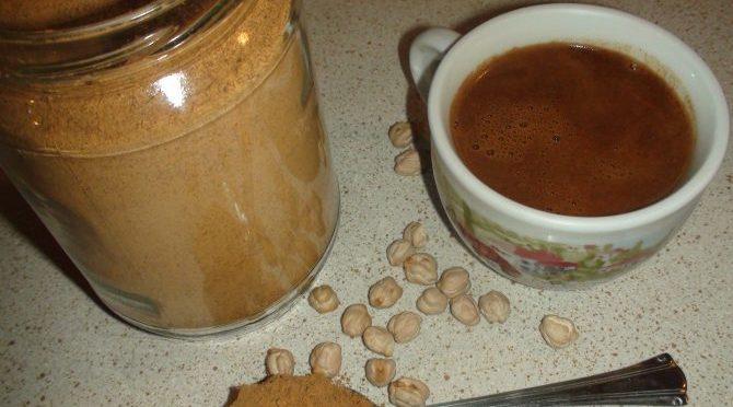 Φτιάξε καφέ απο ρεβύθια (video)
